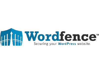 A logo for wordfence - leading wordpress security plugin